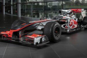 El McLaren-Mercedes F1 2010 de Sir Lewis Hamilton a la venta