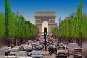 El alcalde de París quiere reducir el tráfico de coches en el centro de la ciudad el próximo año