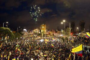 colombia manifestacion