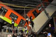 Fallo 'estructural' acusado de accidente fatal en el metro de México