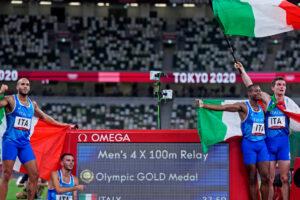 Juegos Olímpicos: Italia y Jamaica ganan medallas de oro en el relevo de velocidad de Tokio 2020