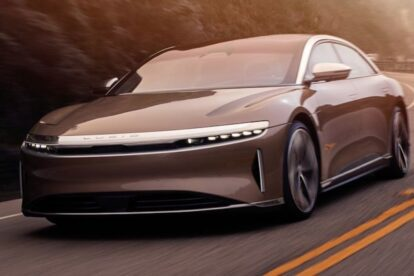 2022 Lucid Air lanza el Tesla Model S como el coche eléctrico de mayor alcance del mundo