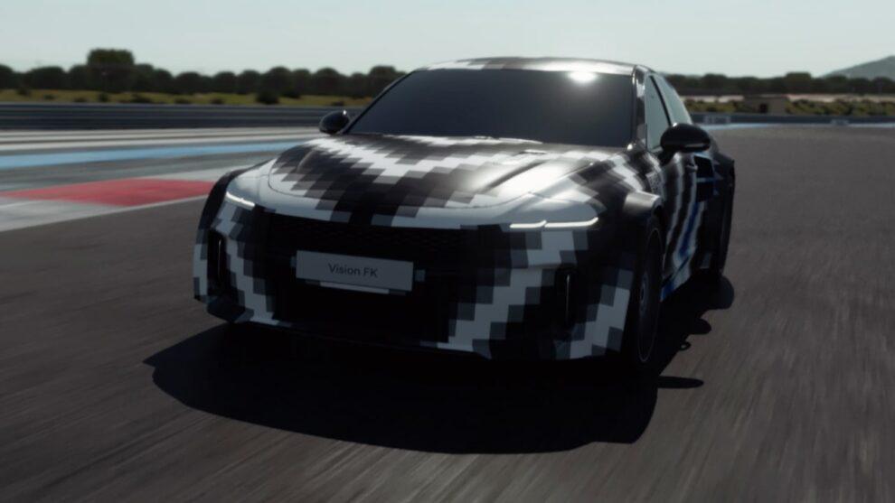 Hyundai Vision FK muestra la familia de rendimiento de hidrógeno