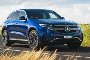 Mercedes-Benz EQC Electric SUV 2019 retirado del mercado debido al riesgo de incendio