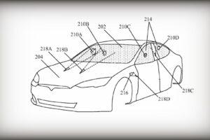 Tesla cambia los limpiaparabrisas a láseres en una nueva patente