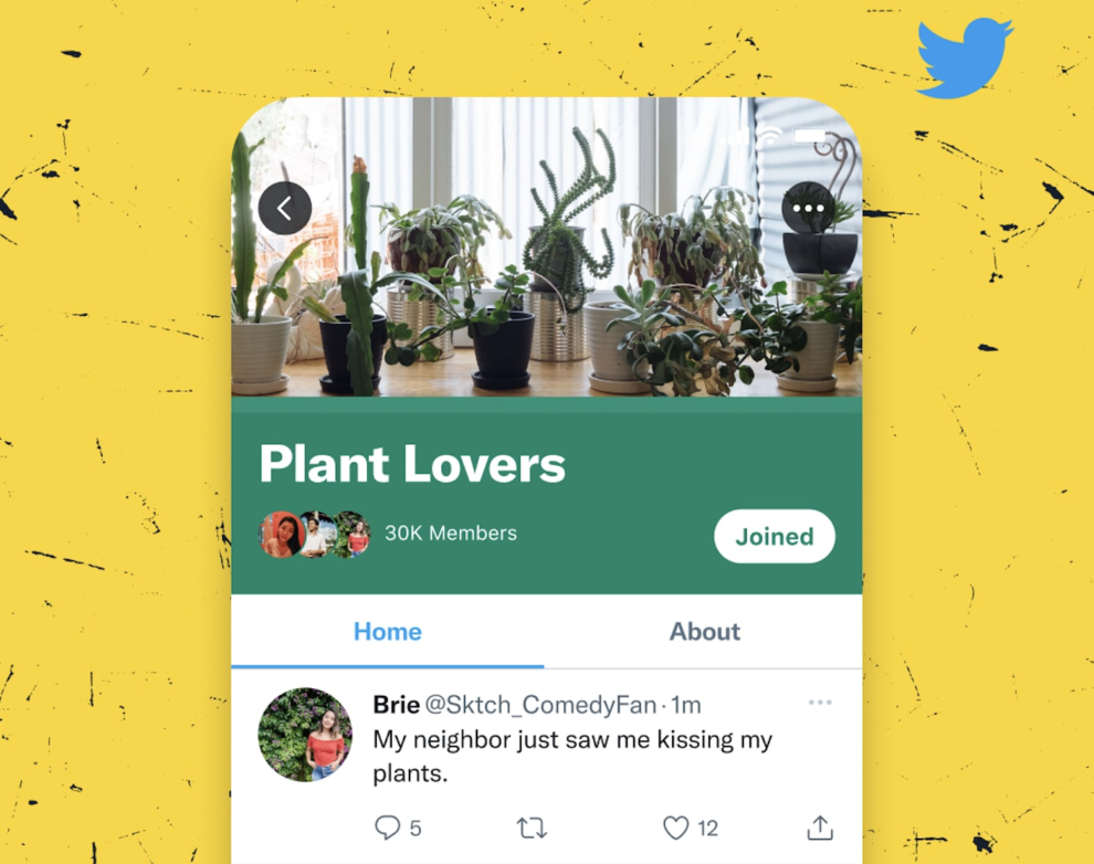 Twitter comienza a probar Comunidades, una nueva función para conectar a personas con intereses comunes