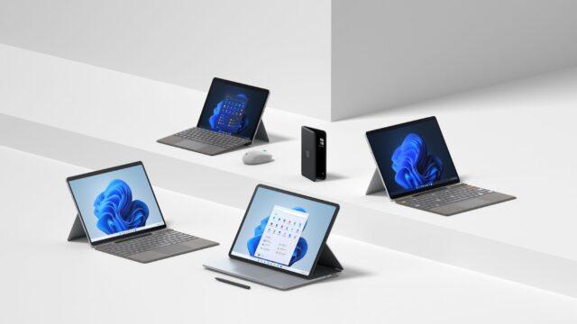 Microsoft presenta cuatro computadoras Surface y un nuevo teléfono plegable